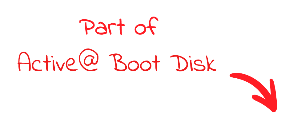 Part of Active@ Boot Disk